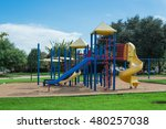 Colorful Children Playground...