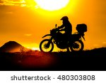 silhouette of the mountain... | Shutterstock . vector #480303808