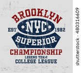 typography vintage motor brand...   Shutterstock .eps vector #480316609