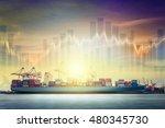 international transportation...   Shutterstock . vector #480345730