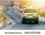 off road suv driving on the... | Shutterstock . vector #480359098