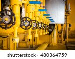 valves manual in the production ...   Shutterstock . vector #480364759