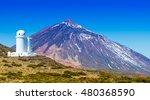 telescopes of the izana... | Shutterstock . vector #480368590