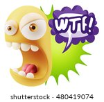 3d rendering angry character... | Shutterstock . vector #480419074