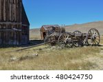 An Old Barn  Outhouse  And...