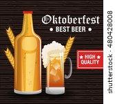 oktoberfest beer festival... | Shutterstock .eps vector #480428008