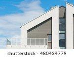 detail of a new modern... | Shutterstock . vector #480434779