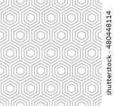 seamless geometric pattern.... | Shutterstock .eps vector #480448114