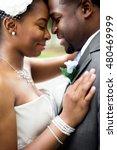 african american bride and groom   Shutterstock . vector #480469999