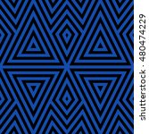 seamless pattern with symmetric ... | Shutterstock .eps vector #480474229
