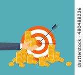 flat header. money  money... | Shutterstock . vector #480488236