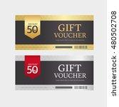 voucher design | Shutterstock .eps vector #480502708