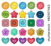jpeg set of cute bright... | Shutterstock . vector #480507463