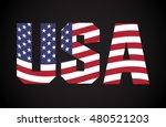 Usa Vector Symbol.usa Flag Icon.