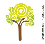 tree plant natural isolated... | Shutterstock .eps vector #480530233
