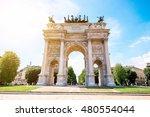 Simplon Roman City Gate In...