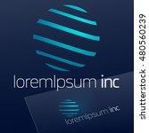 logo for business  technology ... | Shutterstock .eps vector #480560239