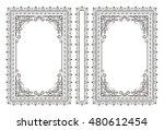 vector classical book cover.... | Shutterstock .eps vector #480612454
