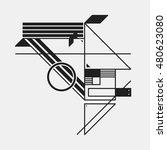 abstract design element in... | Shutterstock .eps vector #480623080