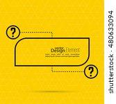 question mark blank template....   Shutterstock .eps vector #480633094