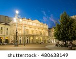 la scala is an opera house in... | Shutterstock . vector #480638149