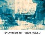 industry 4.0 concept image.... | Shutterstock . vector #480670660