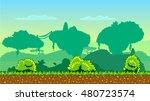 cute cartoon country seamless... | Shutterstock .eps vector #480723574