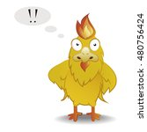 fire cock  character cartoon ... | Shutterstock .eps vector #480756424