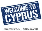 welcome to cyprus stamp. cyprus ... | Shutterstock .eps vector #480756790
