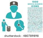 medical business raster bicolor ... | Shutterstock . vector #480789898