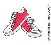 illustration of vintage red...   Shutterstock .eps vector #480800974