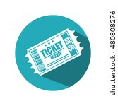 icon ticket movie design | Shutterstock .eps vector #480808276
