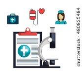 set online services medical... | Shutterstock .eps vector #480825484