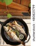 roasted branzino | Shutterstock . vector #480825799