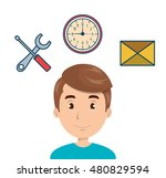 search engine optimization icon | Shutterstock .eps vector #480829594