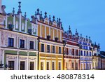 Great Market Square In Zamosc....