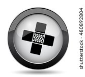 medical patch icon. internet... | Shutterstock . vector #480892804