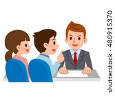 couple to consult with... | Shutterstock .eps vector #480915370