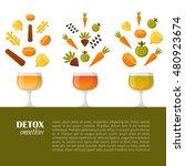 vector illustration with... | Shutterstock .eps vector #480923674