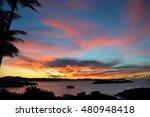 Sunset In Hamilton Island