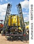 Small photo of Irrigation machinery at the agricultural fair