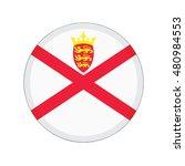 3d button flag of jersey....   Shutterstock .eps vector #480984553