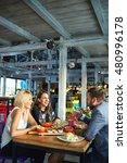 business people meeting in... | Shutterstock . vector #480996178