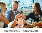 business people meeting in... | Shutterstock . vector #480996238