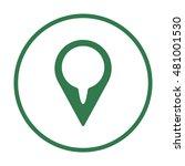 mark icon vector.  flat design. | Shutterstock .eps vector #481001530