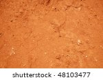 Red Soil Texture Background ...