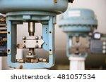 pressure control valve in oil... | Shutterstock . vector #481057534