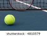 tennis ball  with racquet and... | Shutterstock . vector #4810579