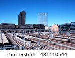 oslo  aug 21. 2016   new... | Shutterstock . vector #481110544