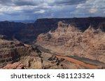 grand canyon west | Shutterstock . vector #481123324